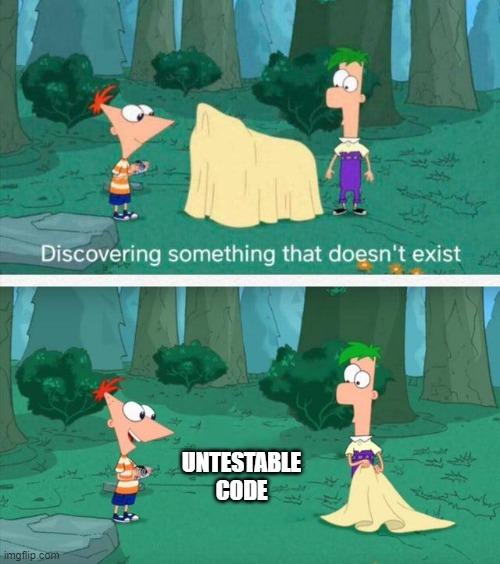 Untestable code