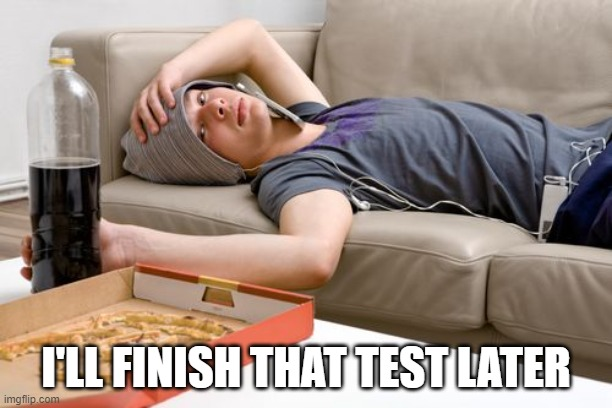 Lazy tests